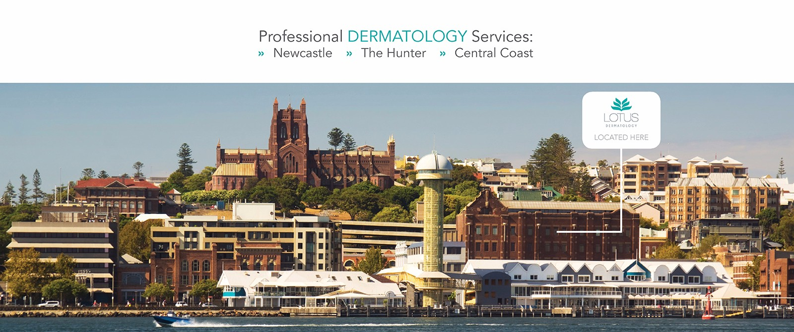 Professional Dermatology in Newcastle and The Hunter
