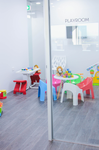 Lotus Dermatology kids playroom